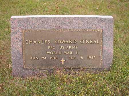 O'NEAL (VETERAN WWII), CHARLES EDWARD - Columbia County, Arkansas | CHARLES EDWARD O'NEAL (VETERAN WWII) - Arkansas Gravestone Photos