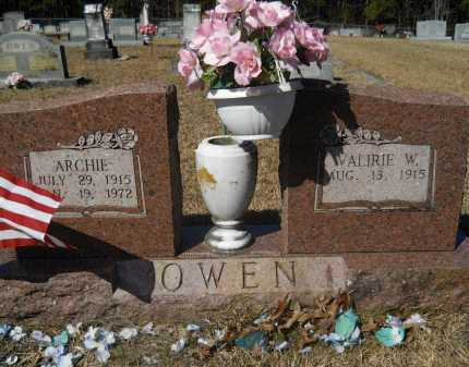 OWEN, ARCHIE - Columbia County, Arkansas | ARCHIE OWEN - Arkansas Gravestone Photos