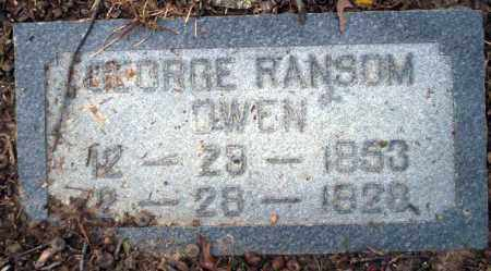 OWEN, GEORGE RANSOM - Columbia County, Arkansas | GEORGE RANSOM OWEN - Arkansas Gravestone Photos