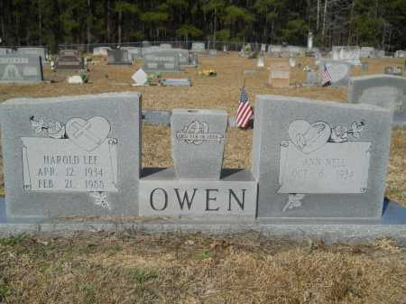 OWEN, HAROLD LEE - Columbia County, Arkansas | HAROLD LEE OWEN - Arkansas Gravestone Photos