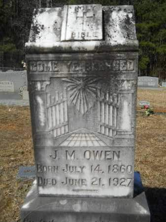 OWEN, JAMES MONROE - Columbia County, Arkansas | JAMES MONROE OWEN - Arkansas Gravestone Photos
