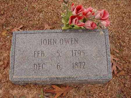 OWEN, JOHN - Columbia County, Arkansas | JOHN OWEN - Arkansas Gravestone Photos