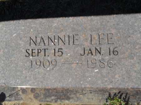 OWEN (CLOSEUP), NANNIE LEE - Columbia County, Arkansas | NANNIE LEE OWEN (CLOSEUP) - Arkansas Gravestone Photos