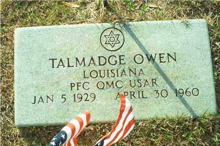 OWEN (VETERAN), TALMADGE - Columbia County, Arkansas | TALMADGE OWEN (VETERAN) - Arkansas Gravestone Photos
