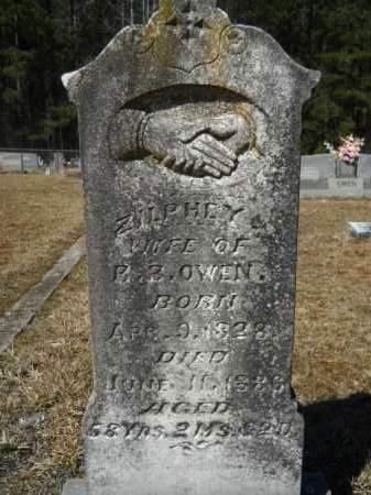 OWEN, ZILPHEY - Columbia County, Arkansas | ZILPHEY OWEN - Arkansas Gravestone Photos