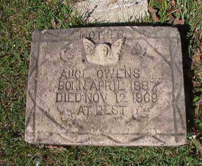 OWENS, ALICE - Columbia County, Arkansas | ALICE OWENS - Arkansas Gravestone Photos
