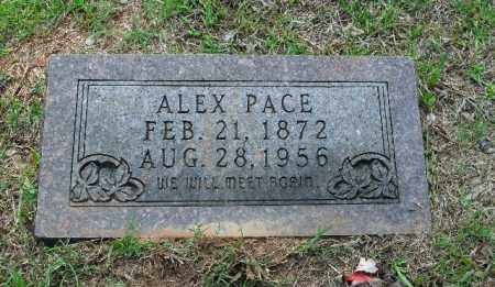 PACE, ALEX - Columbia County, Arkansas | ALEX PACE - Arkansas Gravestone Photos