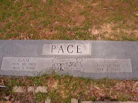 PACE, ISAAC - Columbia County, Arkansas | ISAAC PACE - Arkansas Gravestone Photos