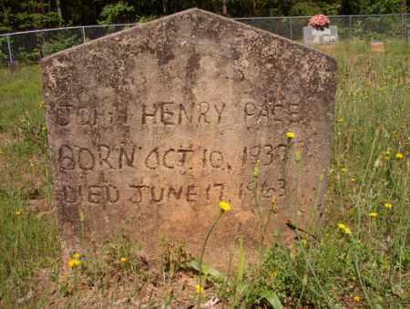 PACE, JOHN HENRY - Columbia County, Arkansas | JOHN HENRY PACE - Arkansas Gravestone Photos