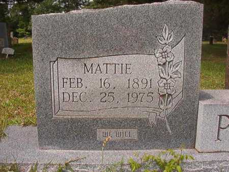 PACE, MATTIE - Columbia County, Arkansas | MATTIE PACE - Arkansas Gravestone Photos