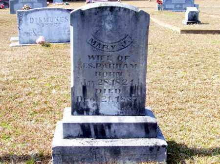 PARHAM, MARY J - Columbia County, Arkansas | MARY J PARHAM - Arkansas Gravestone Photos