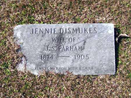 DISMUKES PARHAM, MARY JANE - Columbia County, Arkansas | MARY JANE DISMUKES PARHAM - Arkansas Gravestone Photos