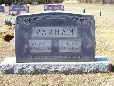 PARHAM, WARREN J - Columbia County, Arkansas | WARREN J PARHAM - Arkansas Gravestone Photos