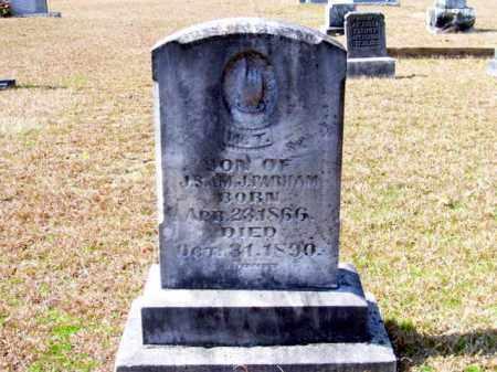 PARHAM, WILLIAM THOMAS - Columbia County, Arkansas   WILLIAM THOMAS PARHAM - Arkansas Gravestone Photos