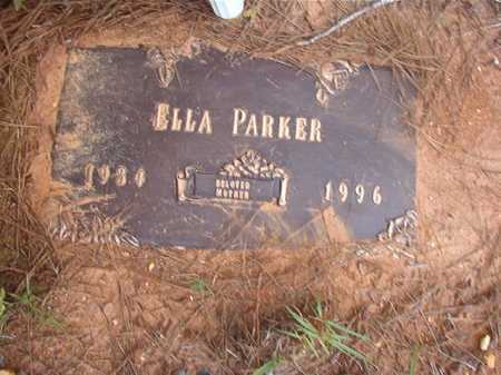 PARKER, ELLA - Columbia County, Arkansas | ELLA PARKER - Arkansas Gravestone Photos