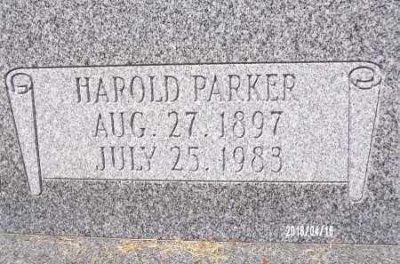 PARKER, HAROLD - Columbia County, Arkansas | HAROLD PARKER - Arkansas Gravestone Photos