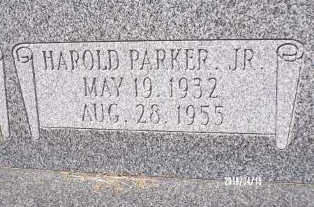 PARKER, JR., HAROLD - Columbia County, Arkansas | HAROLD PARKER, JR. - Arkansas Gravestone Photos