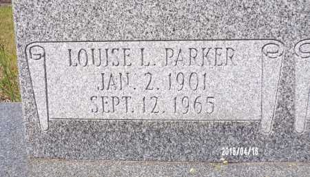 PARKER, LOUISE L - Columbia County, Arkansas | LOUISE L PARKER - Arkansas Gravestone Photos