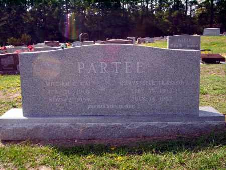 PARTEE, WILLIAM C CAL - Columbia County, Arkansas | WILLIAM C CAL PARTEE - Arkansas Gravestone Photos