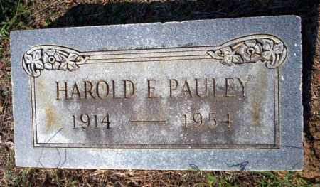 PAULEY, HAROLD E - Columbia County, Arkansas | HAROLD E PAULEY - Arkansas Gravestone Photos