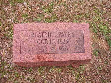 PAYNE, BEATRICE - Columbia County, Arkansas | BEATRICE PAYNE - Arkansas Gravestone Photos