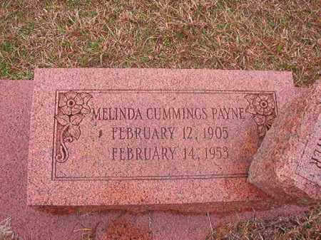CUMMINGS PAYNE, MELINDA - Columbia County, Arkansas | MELINDA CUMMINGS PAYNE - Arkansas Gravestone Photos