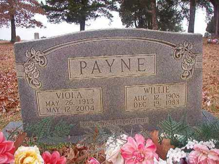 PAYNE, WILLIE - Columbia County, Arkansas | WILLIE PAYNE - Arkansas Gravestone Photos