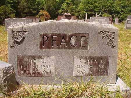 PEACE, JAY G - Columbia County, Arkansas | JAY G PEACE - Arkansas Gravestone Photos