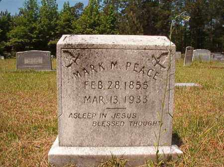 PEACE, MARK M - Columbia County, Arkansas | MARK M PEACE - Arkansas Gravestone Photos