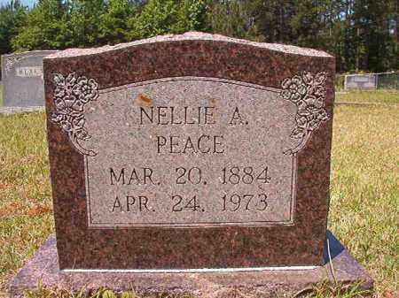 PEACE, NELLIE A - Columbia County, Arkansas   NELLIE A PEACE - Arkansas Gravestone Photos