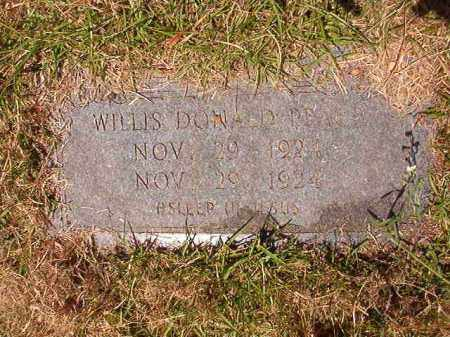 PEACE, WILLIS DONALD - Columbia County, Arkansas | WILLIS DONALD PEACE - Arkansas Gravestone Photos