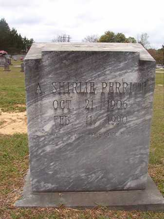 PERRITT, A SHIRLIE - Columbia County, Arkansas | A SHIRLIE PERRITT - Arkansas Gravestone Photos