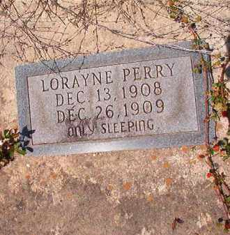 PERRY, LORAYNE - Columbia County, Arkansas | LORAYNE PERRY - Arkansas Gravestone Photos