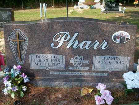 PHARR, DONALD G - Columbia County, Arkansas | DONALD G PHARR - Arkansas Gravestone Photos