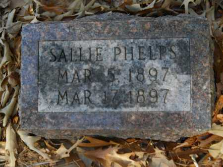 PHELPS, SALLIE - Columbia County, Arkansas | SALLIE PHELPS - Arkansas Gravestone Photos