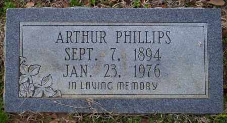 PHILLIPS, ARTHUR - Columbia County, Arkansas | ARTHUR PHILLIPS - Arkansas Gravestone Photos