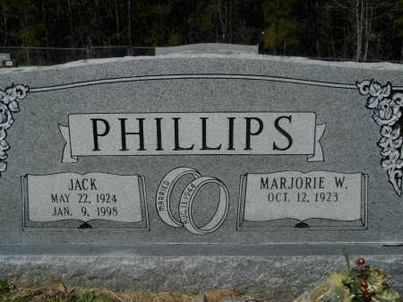 PHILLIPS, JACK - Columbia County, Arkansas | JACK PHILLIPS - Arkansas Gravestone Photos