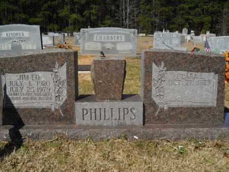 PHILLIPS, JIM ED - Columbia County, Arkansas | JIM ED PHILLIPS - Arkansas Gravestone Photos