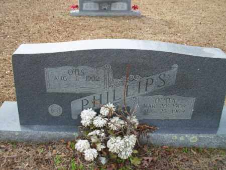 PHILLIPS, OUITA - Columbia County, Arkansas | OUITA PHILLIPS - Arkansas Gravestone Photos