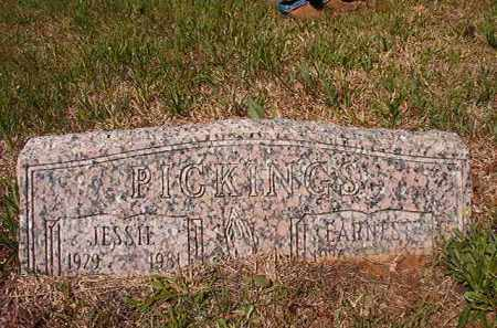 PICKINGS, JESSIE - Columbia County, Arkansas | JESSIE PICKINGS - Arkansas Gravestone Photos