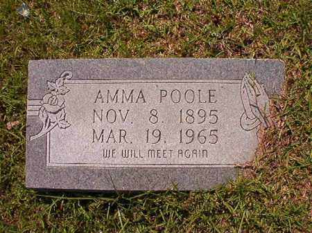POOLE, AMMA - Columbia County, Arkansas | AMMA POOLE - Arkansas Gravestone Photos
