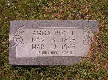 POOLE, AMMA - Columbia County, Arkansas | AMMA POOLE - Arkansas Gravestone Photos