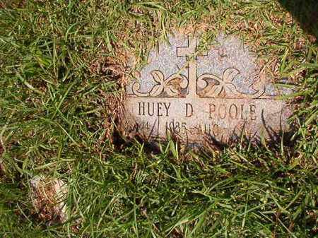 POOLE, HUEY D - Columbia County, Arkansas | HUEY D POOLE - Arkansas Gravestone Photos