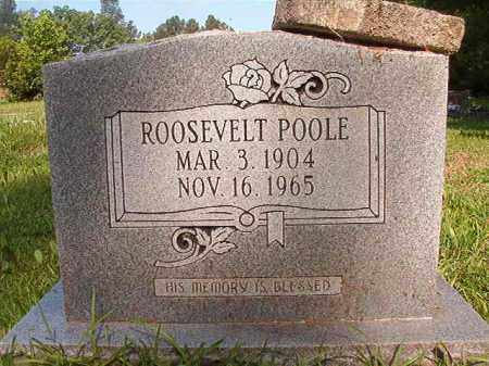 POOLE, ROOSEVELT - Columbia County, Arkansas | ROOSEVELT POOLE - Arkansas Gravestone Photos