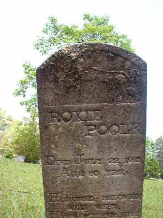 POOLE, ROXIE - Columbia County, Arkansas | ROXIE POOLE - Arkansas Gravestone Photos