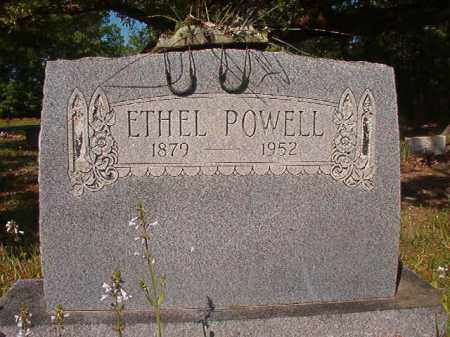 POWELL, ETHEL - Columbia County, Arkansas | ETHEL POWELL - Arkansas Gravestone Photos