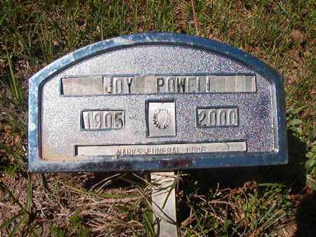 POWELL, JOY - Columbia County, Arkansas | JOY POWELL - Arkansas Gravestone Photos