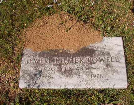 POWELL (VETERAN), JEWELL KILMER - Columbia County, Arkansas | JEWELL KILMER POWELL (VETERAN) - Arkansas Gravestone Photos