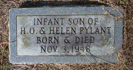 PYLANT, INFANT SON - Columbia County, Arkansas | INFANT SON PYLANT - Arkansas Gravestone Photos