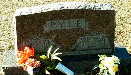 SMALLING PYLE, GEORGIA ANN - Columbia County, Arkansas | GEORGIA ANN SMALLING PYLE - Arkansas Gravestone Photos